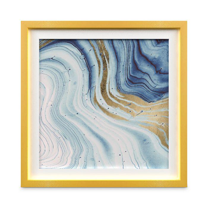 """Whom Home - Geode II Wall Art, 24"""" x 24"""""""