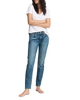 rag & bone - Dre Slim Boyfriend Jeans in Bellview