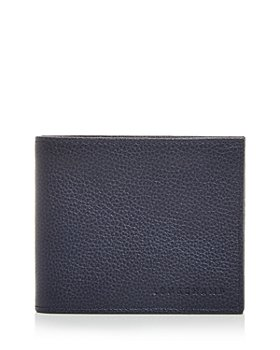 Longchamp - Le Foulonné Leather Bi Fold Wallet