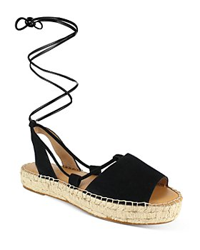 Splendid - Women's Meredith Almond Toe Strappy Espadrille Platform Sandals