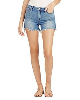 Joe's Jeans - The Ozzie Frayed Denim Shorts in Denali
