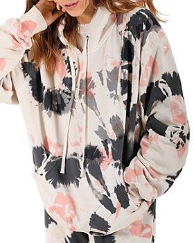 PAM & GELA - Tie Dye Hooded Sweatshirt