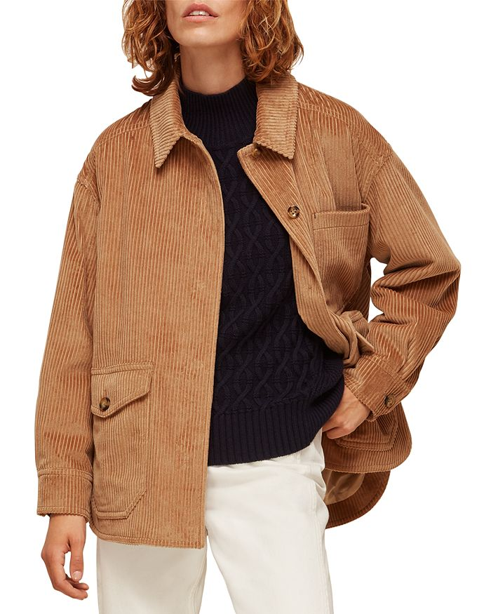 Whistles - Corduroy Shirt Jacket