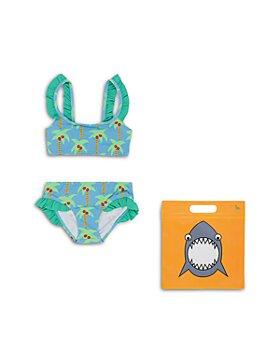 Stella McCartney - Girls' Palm Trees Two Piece Swimsuit - Little Kid