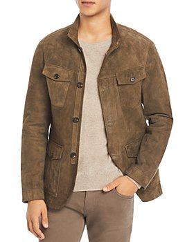 Michael Kors - Suede Regular Fit Field Jacket