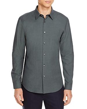 Theory Irving Dobby Print Regular Fit Shirt