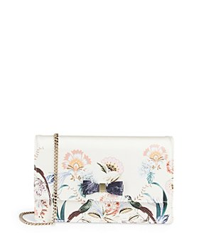 Ted Baker - Decadence Bow Small Leather Evening Bag