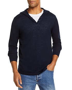 The Men's Store at Bloomingdale's - Linen Cotton Hooded Pullover - 100% Exclusive