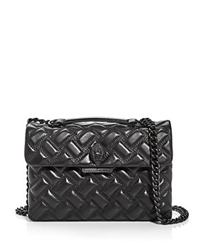 KURT GEIGER LONDON - Kensington Drench Leather Shoulder Bag