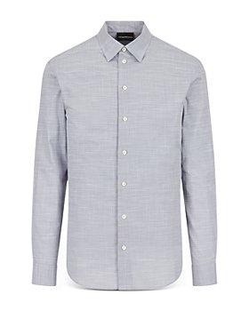 Armani - Long Sleeve Chambray Shirt