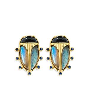Capucine de Wulf Scarab Earrings