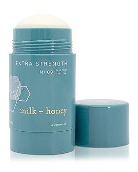 milk + honey - Extra Strength Deodorant No. 09 3 oz.
