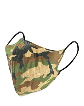 Private Stock Labs - Unisex Camo Series 5-Ply KN95 Protective Masks, Set of 5