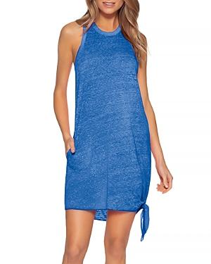 Becca? by Rebecca Virtue Beach Date Knot Hem Cover-Up Dress
