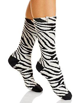 UGG® - Leslie Fuzzy Crew Socks