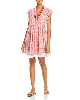 Poupette St. Barth - Sasha Paisley Mini Dress