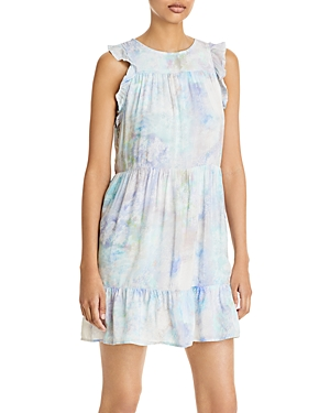 Bella Dahl Ruffled Tiered Mini Dress