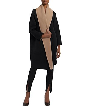 Theory - Double-Faced Wool & Cashmere Scarf Coat