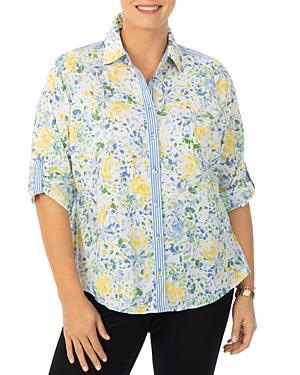Zoey Floral Print Shirt