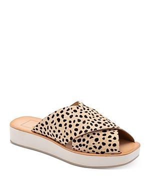 Dolce Vita Women's Capri Slip On Platform Sandals