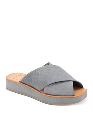 Women's Capri Slip On Platform Sandals