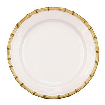 Juliska - Classic Bamboo Natural Dinner Plate