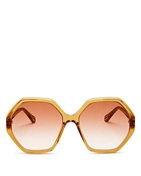 Chloé - Women's Geometric Sunglasses, 58mm