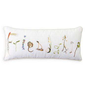 """Juliska - Forest Walk Friendship Decorative Pillow, 12"""" x 27"""""""