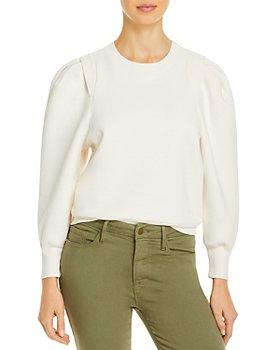 FRAME - Pleated Panel Sweatshirt