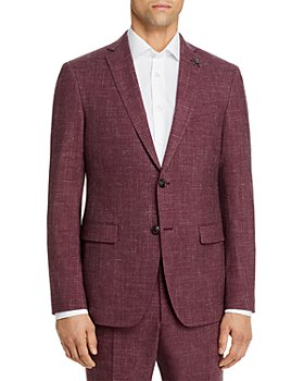 John Varvatos Star USA - Melange Solid Slim Fit Suit Jacket