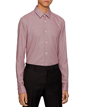 BOSS - Lukas Regular Fit Button Down Shirt