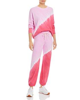 Sundry - Dip Dyed Sweatshirt & Sweatpants