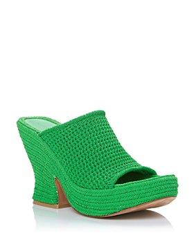 Bottega Veneta - Women's Wedge Espadrille Platform Sandals