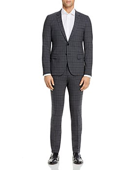 HUGO - Anfred & Heiron Plaid Extra Slim Fit Suit Separates