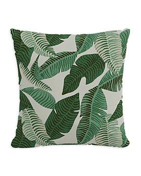 """Sparrow & Wren - Outdoor Pillow in Banana Palm, 18"""" x 18"""""""
