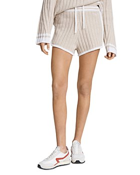 rag & bone - Serena Ribbed Knit Shorts