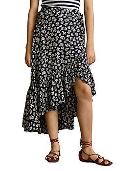 Ralph Lauren - High Low Floral Prairie Skirt