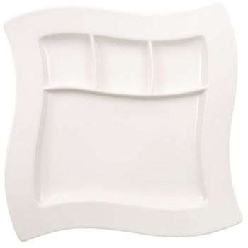 "Villeroy & Boch - ""New Wave"" Grill Plate, Small"