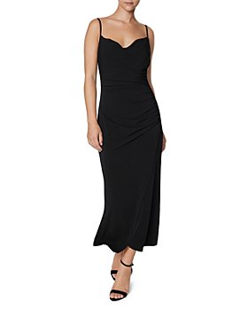 Laundry by Shelli Segal - Cowl Neck Midi Slip