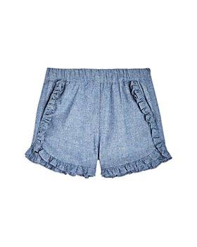 Sovereign Code - Girls' Chella Chambray Ruffle Shorts - Little Kid, Big Kid