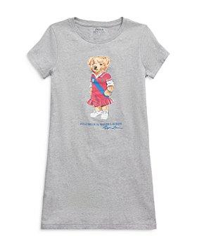 Ralph Lauren - Polo Ralph Lauren Girls' Bear Tee Dress - Big Kid, Little Kid