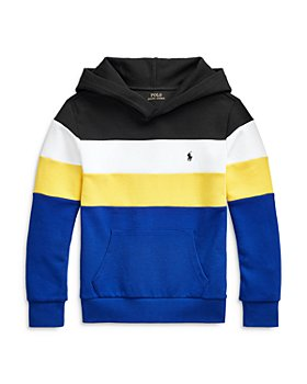 Ralph Lauren - Boys' Color Block Hoodie - Little Kid, Big Kid