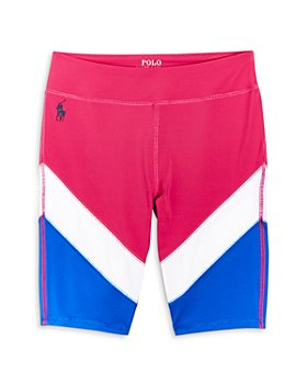 Ralph Lauren - Girls' Color Block Bike Shorts - Big Kid