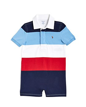 Ralph Lauren - Boys' Rugby Stripe Romper - Baby