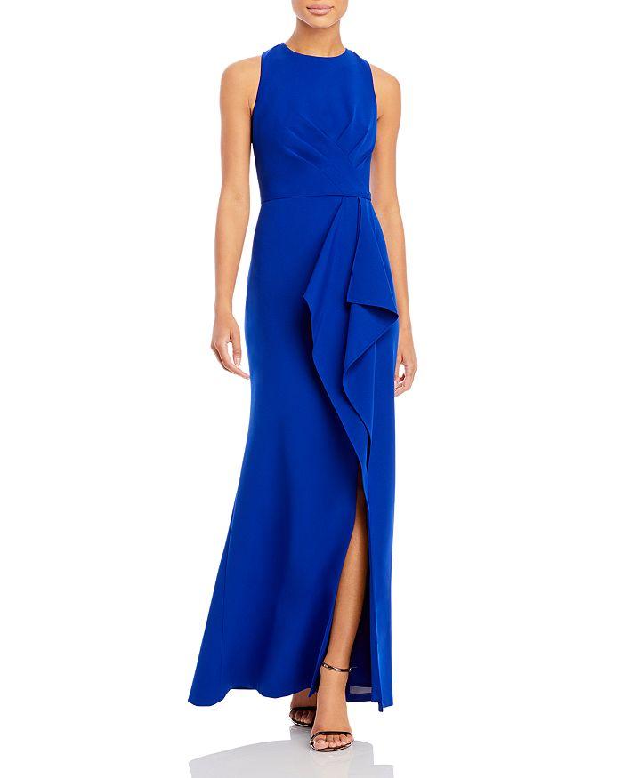 Eliza J - Sleeveless Draped Gown