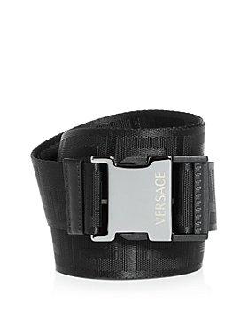 Versace - Versace Men's Greca Clip Buckle Webbing Belt