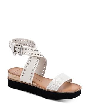 Dolce Vita Women's Panko Stud Eyelet Platform Sandals