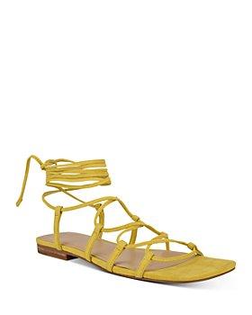 Marc Fisher LTD. - Women's Mahalia Ghillie Lace Ankle Tie Sandals