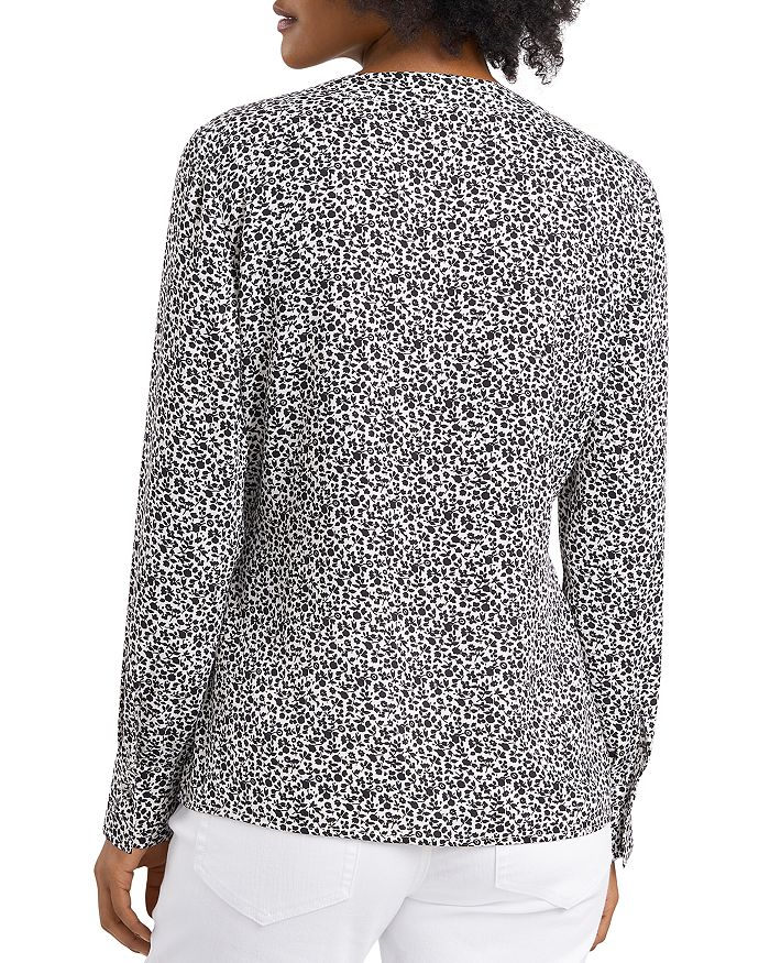 VINCE CAMUTO Tops DITSY FLORAL SIDE TIE TOP
