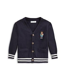 Ralph Lauren - Boys' Bear Varsity Cardigan - Baby